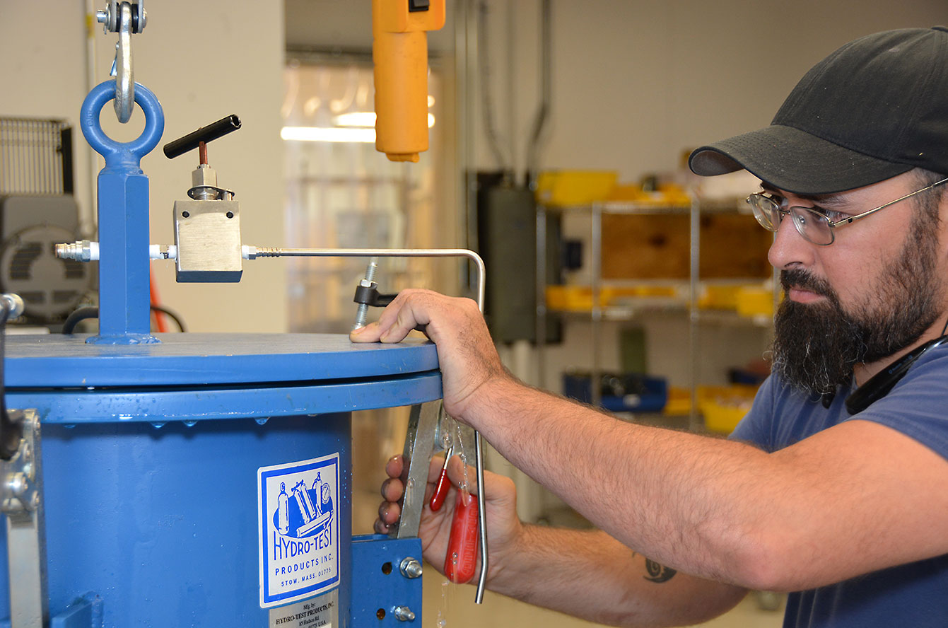 hydrostatic and vacuum testing Charleston sc